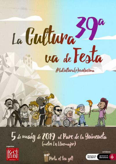 39 edició de 'La Cultura va de Festa' a Nou Barris | favb.cat