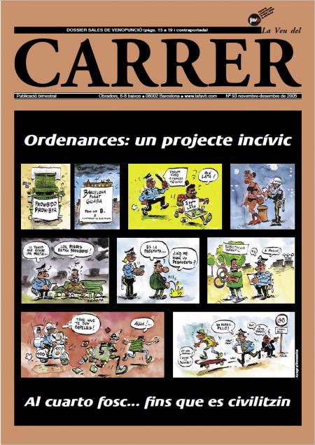 Ordenances: un projecte incívic